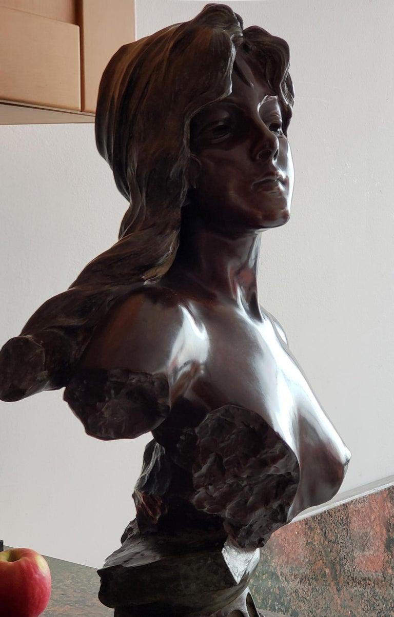 Capture - Slave Girl Bronze For Sale 7