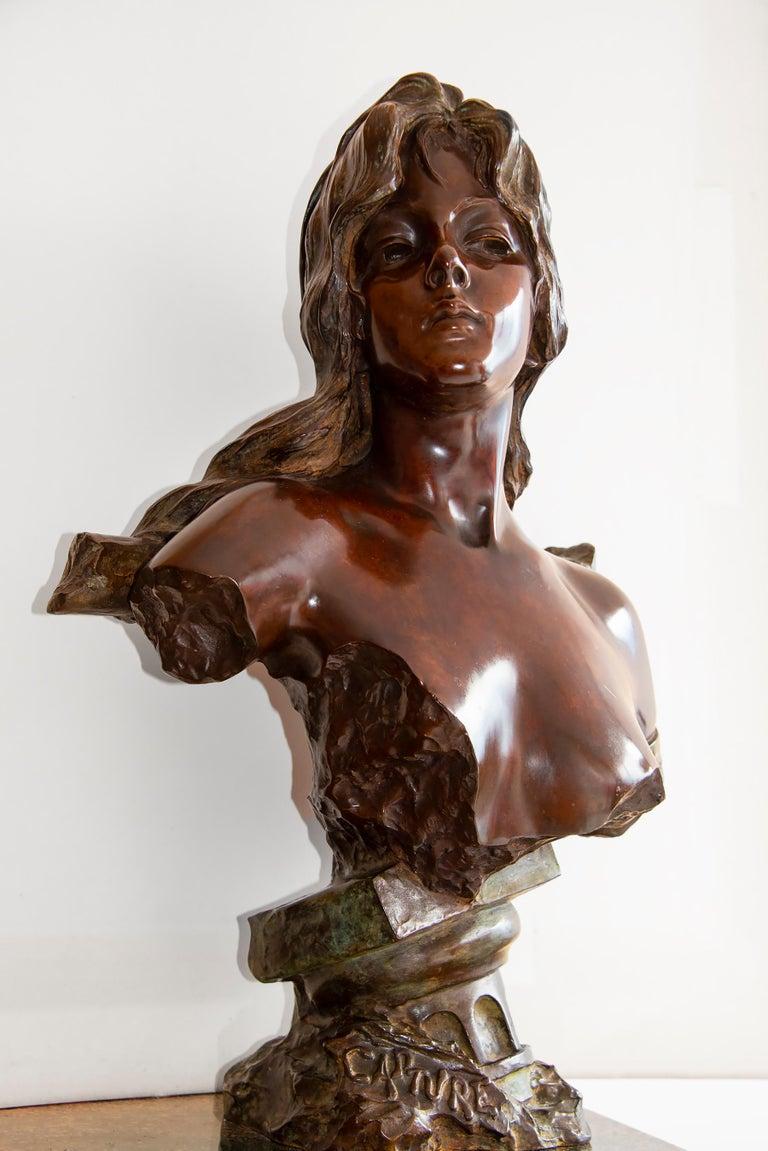 Capture - Slave Girl Bronze For Sale 11