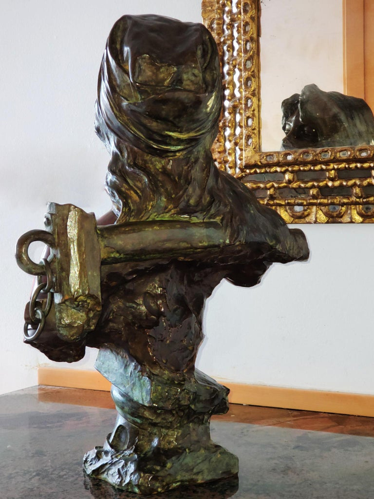 Capture - Slave Girl Bronze For Sale 4