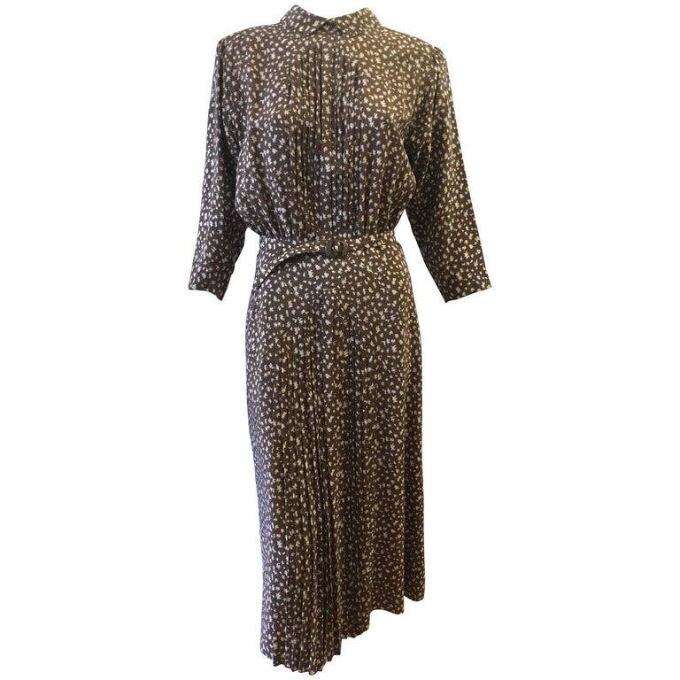 Emmanuelle Khanh Paris 1980s Dress For Sale