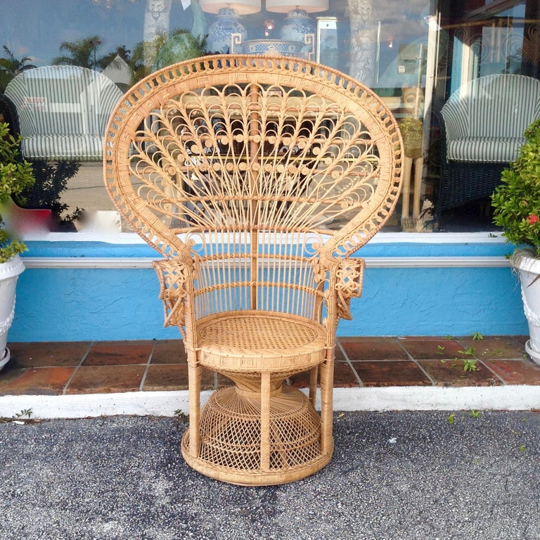 A classic design that captured the imagination after the famous movie series - also featured in earlier movies like Casablanca and The Pink Panther. Cane seat is original.