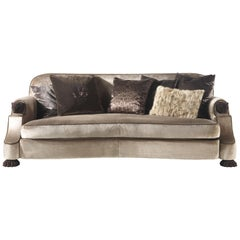 Empire 2-Seat Sofa in Fabric by Roberto Cavalli