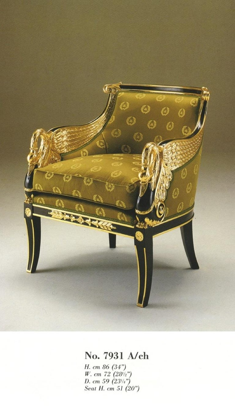Hand-Carved Empire Bergere