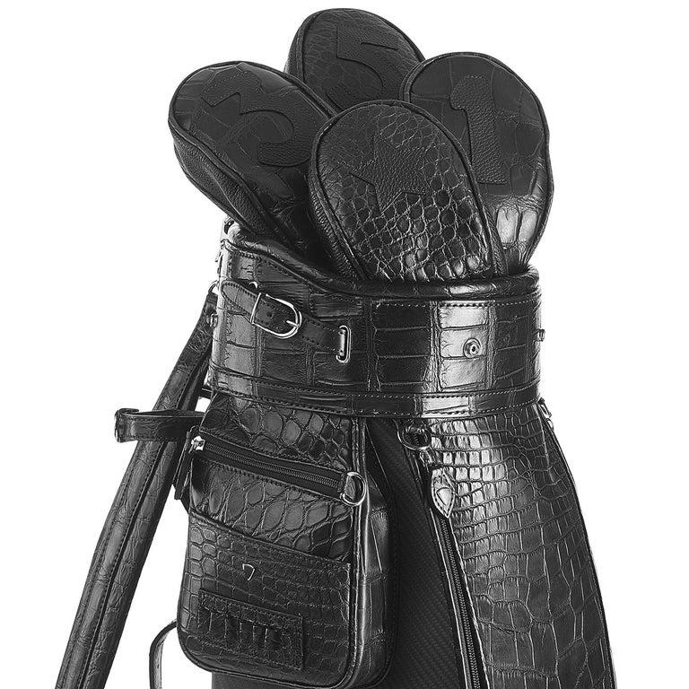 Modern Empire Black Golf Bag by Barchi For Sale
