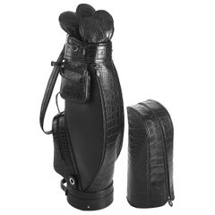 Empire Black Golf Bag by Barchi