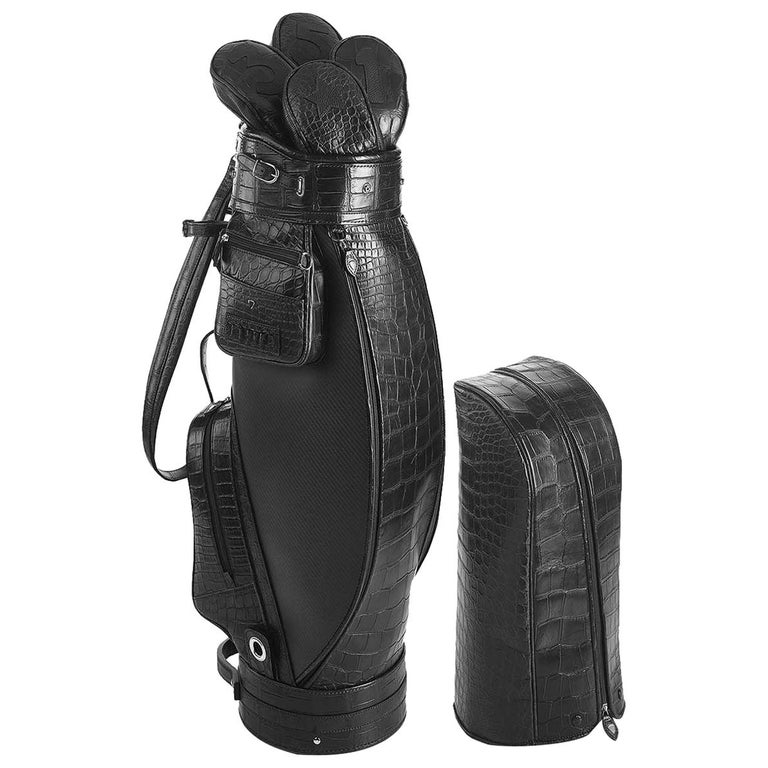 Empire Black Golf Bag by Barchi For Sale