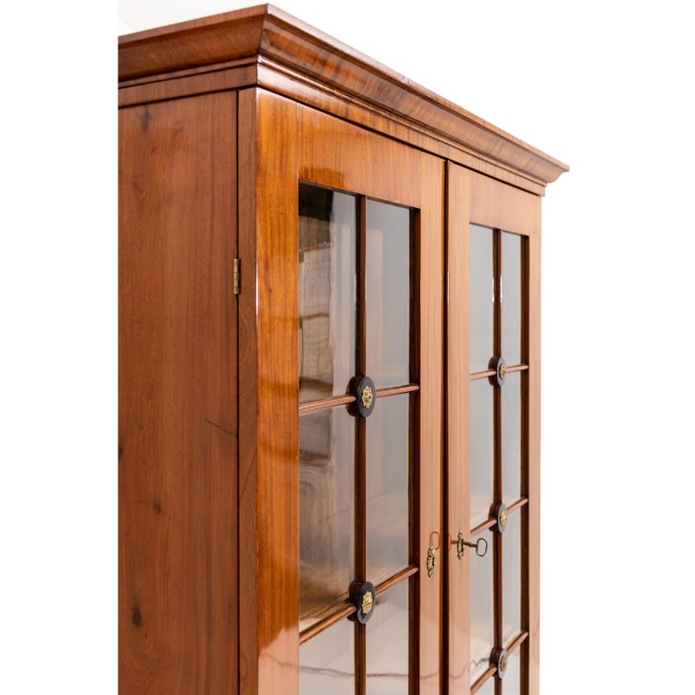 Empire Bookcase, Early 19th Century For Sale 5