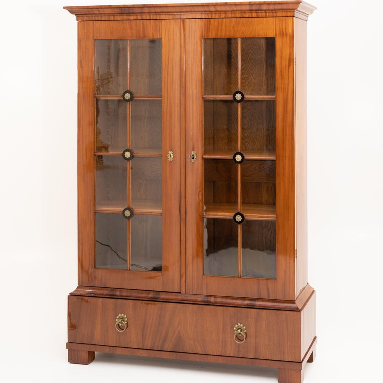 European Empire Bookcase, Early 19th Century For Sale