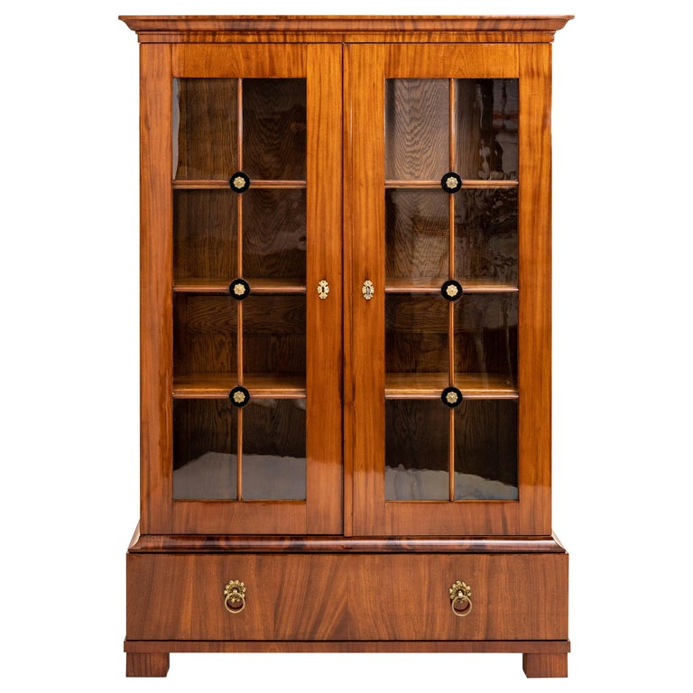 Empire Bookcase, Early 19th Century For Sale