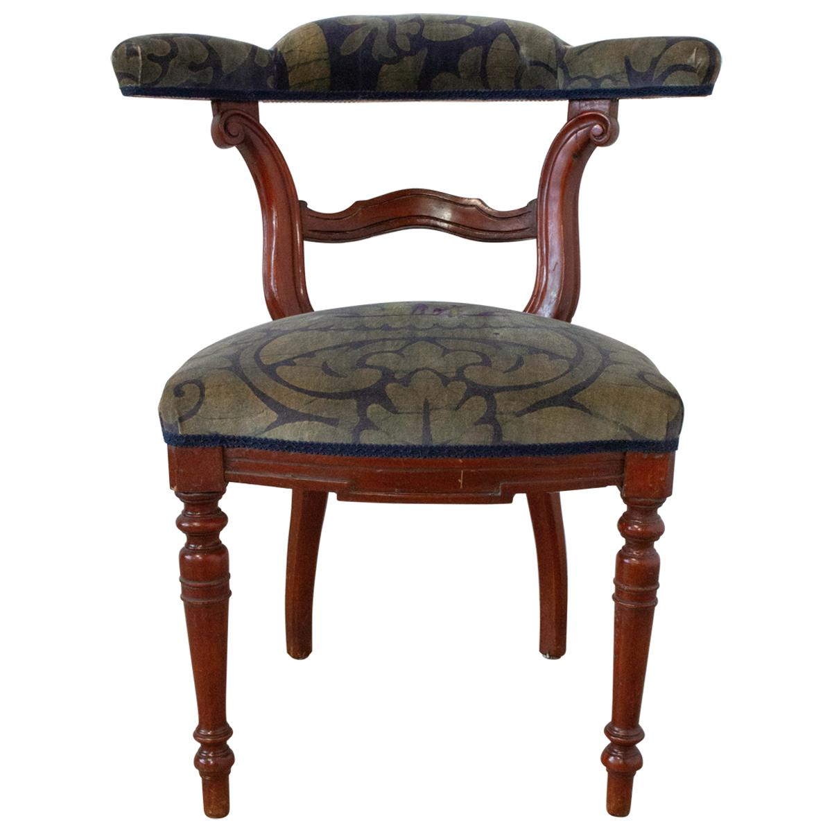 Empire Chair French Desk Chair 20th Century to be Re-Uphostered