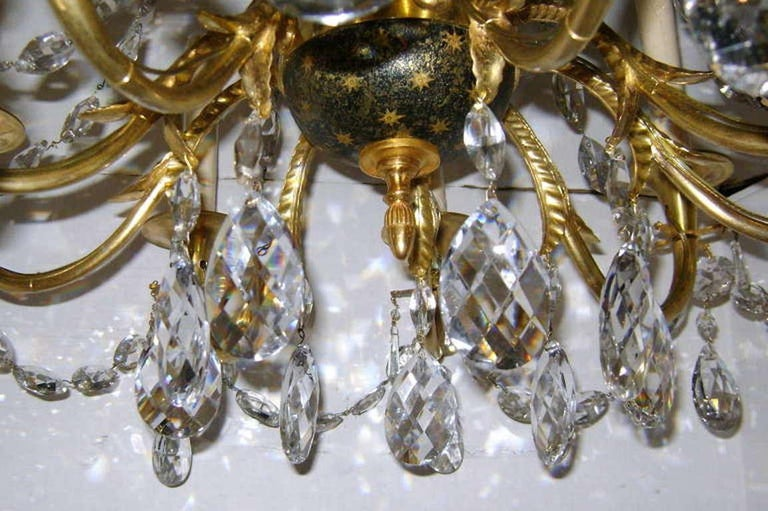 Empire Chandelier with Crystals For Sale 3