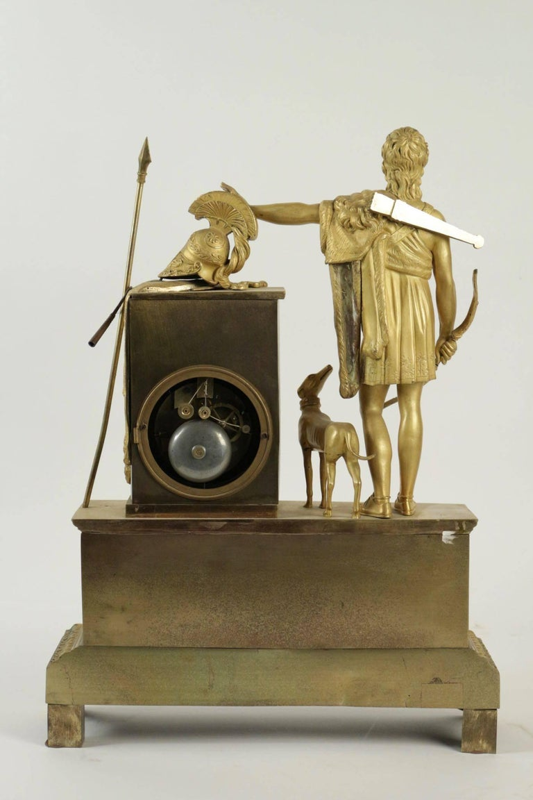 Empire Clock from the 19th Century For Sale 2