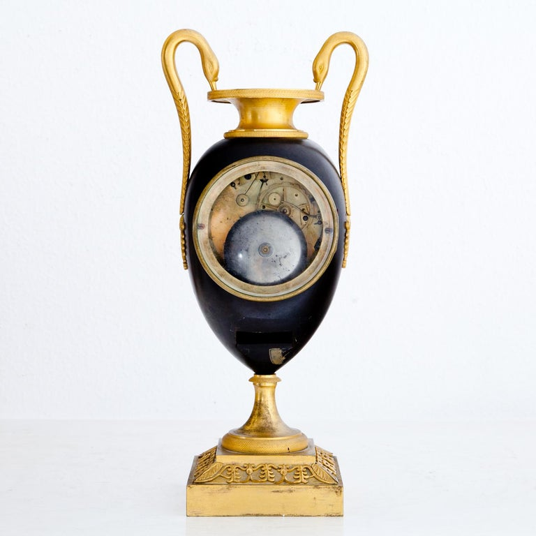 Empire Clock, Signed Griebel, France, First Quarter of the 19th Century For Sale 7