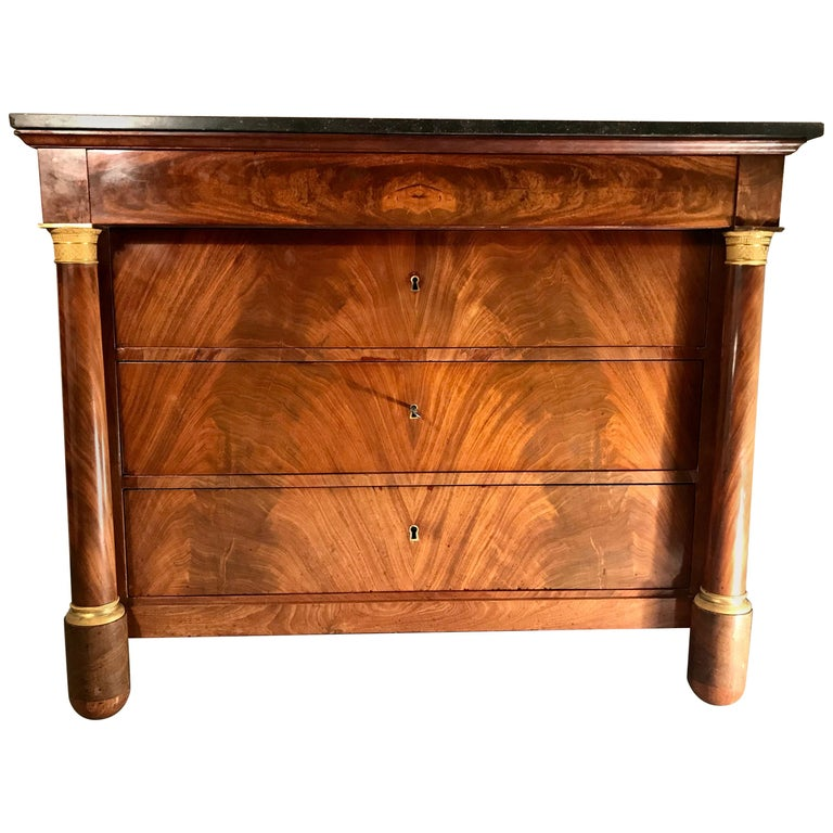 Empire Commode, France, circa 1810 For Sale