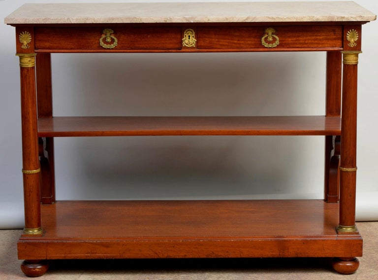 Empire Console Table, France, 19th Century For Sale 5