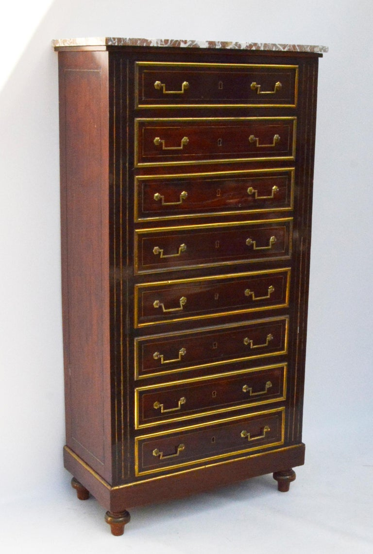 Other Empire Dresser or Secretary, Paris, 1810s For Sale