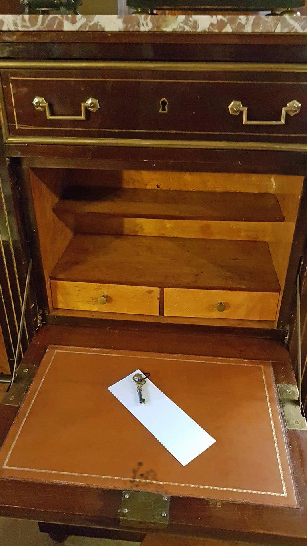 Early 19th Century Empire Dresser or Secretary, Paris, 1810s For Sale