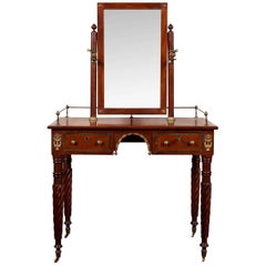 Empire Dressing Table with Mirror