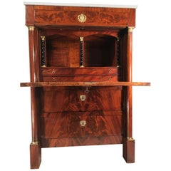 Empire Fall Top Desk, France, 1810