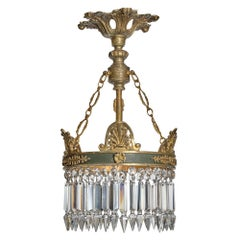 Empire French Crystal Chandelier