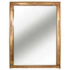 19th Century Empire Gold Gilt Mirror