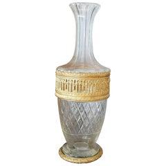 Empire Gilt Bronze Vase, France, 19th Century