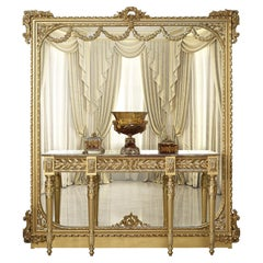 Empire Gold Leaf Console by Modenese Gastone Interiors