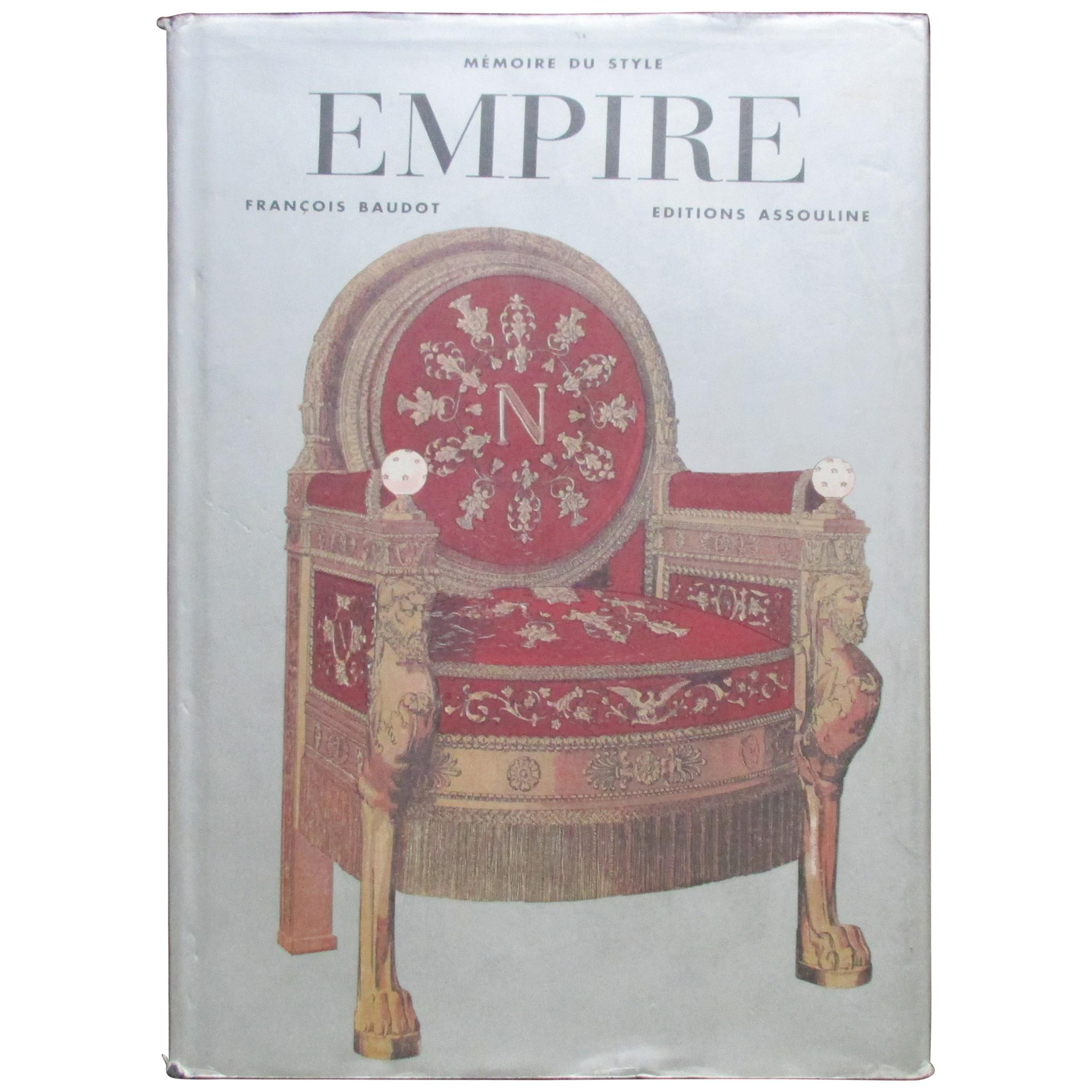 Empire Hardcover Decoration Book in French