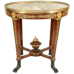 Empire Influenced Centre Table, 19th Century