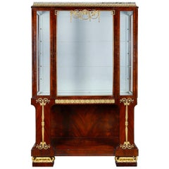 Empire Influenced Display Cabinet, circa 1920