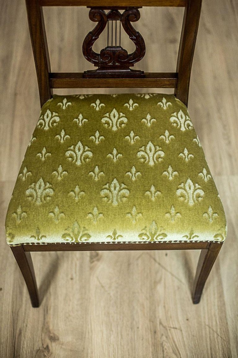 Empire Mahogany Chairs, circa 1810 In Good Condition For Sale In Opole, PL