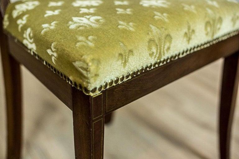 Empire Mahogany Chairs, circa 1810 For Sale 2