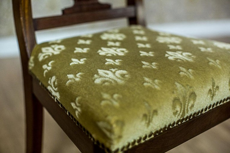Empire Mahogany Chairs, circa 1810 For Sale 3