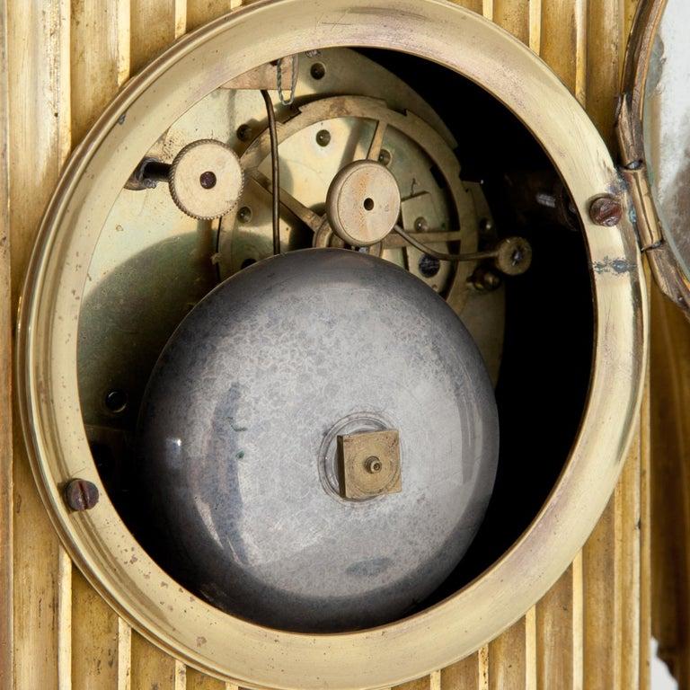 Empire Mantel Clock, France, circa 1810 10
