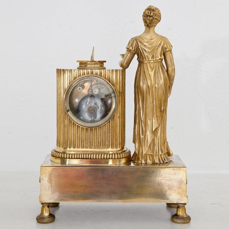 Empire Mantel Clock, France, circa 1810 13