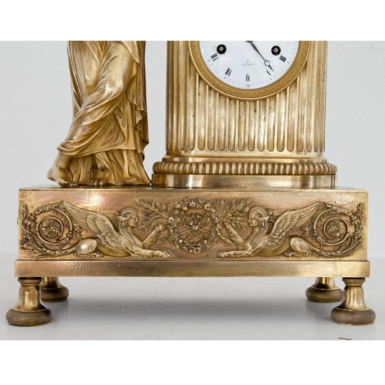 Empire Mantel Clock, France, circa 1810 15