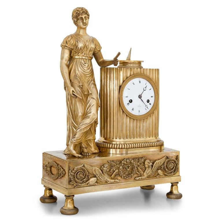 Empire Mantel Clock, France, circa 1810 2
