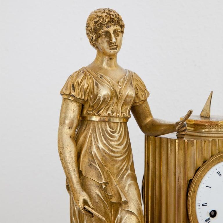 Empire Mantel Clock, France, circa 1810 3