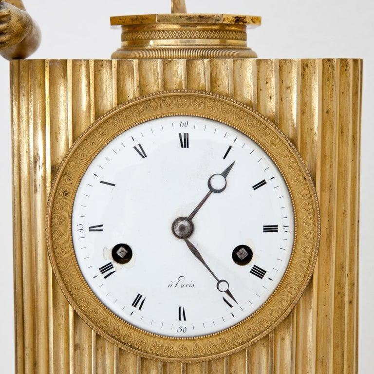 Empire Mantel Clock, France, circa 1810 5