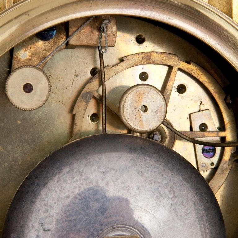 Empire Mantel Clock, France, circa 1810 7
