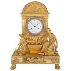 Empire Mantel Clock, Paris, circa 1820