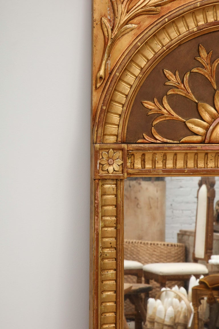 Early 20th Century Empire Mirror by C. A. Carlsson, Sweden, Stamped, circa 1916 For Sale