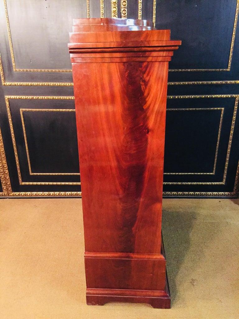 Empire or Biedermeier Secretary Mahogany, 1815 For Sale 5