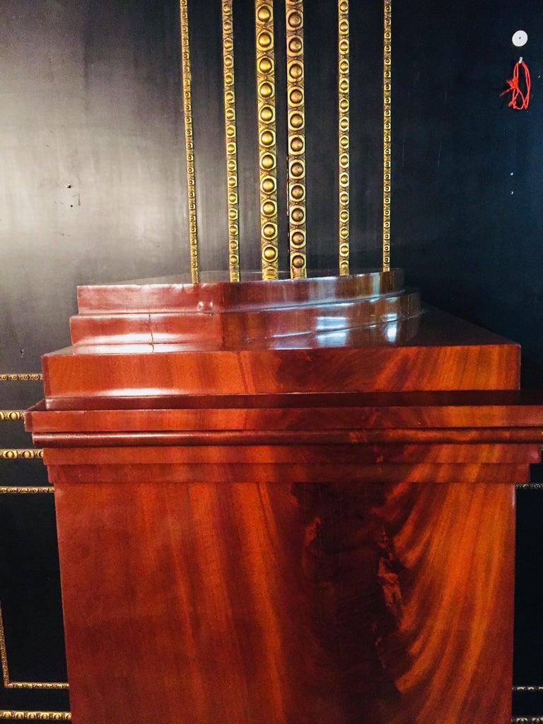 Empire or Biedermeier Secretary Mahogany, 1815 For Sale 6