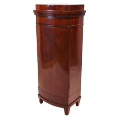 Empire Pedestal Cabinet of Mahogany and from Around the Year 1810
