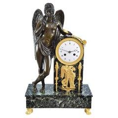 Empire Period Clock, Early 19th Century