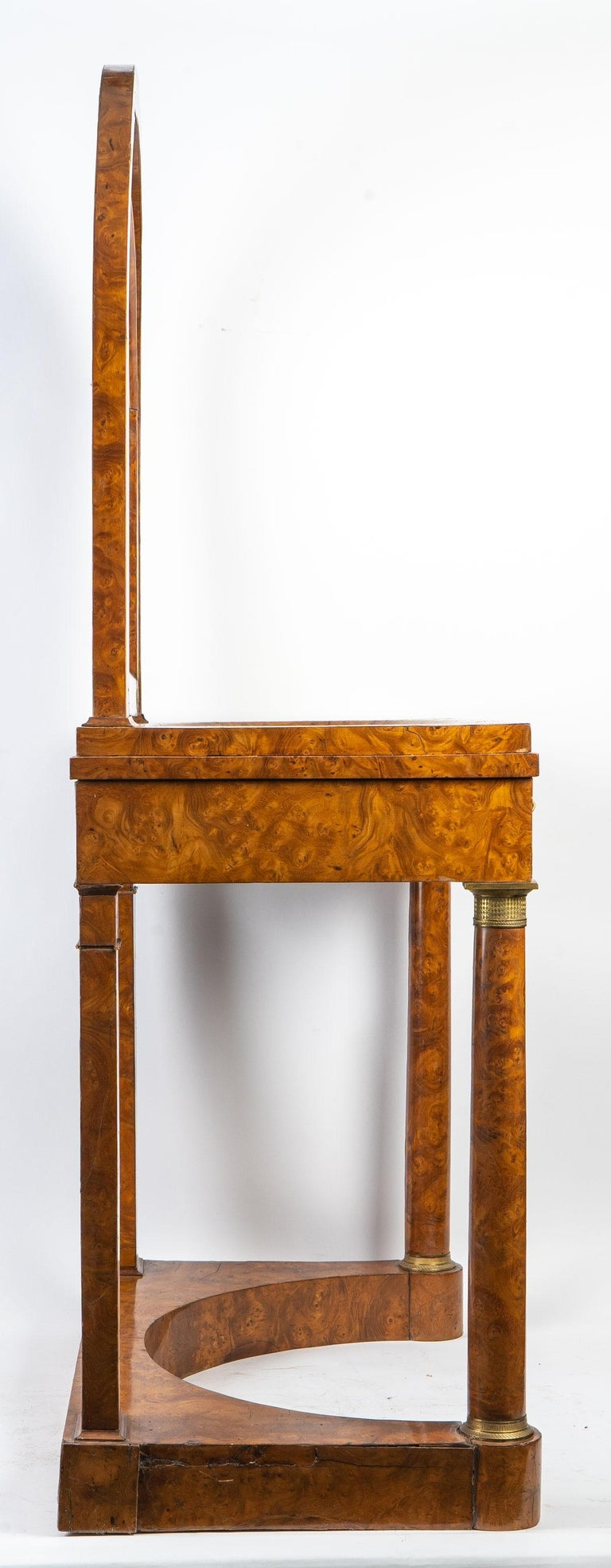 Plated Empire Period Hairdresser, circa 1810 For Sale