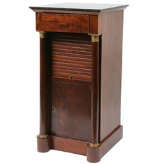 Empire Period Mahogany Night Stand
