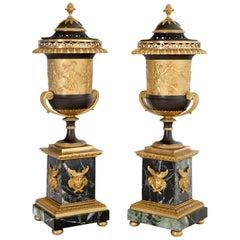 Pair of Empire Brûle-Parfum Urns, France, circa 1805