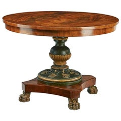 Empire Salon Table, First Half of the 19th Century